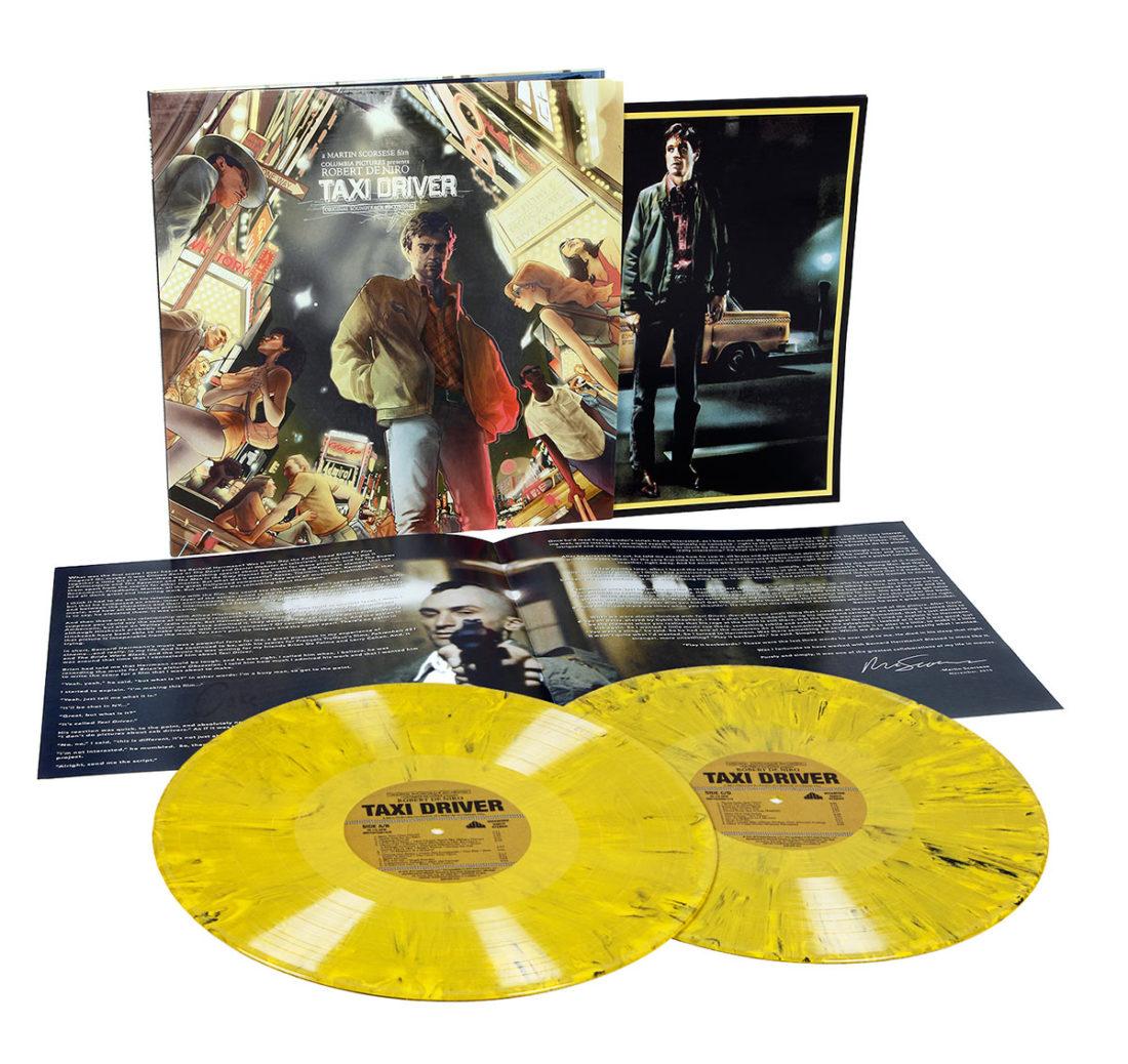 Taxi Driver Original Soundtrack Album 2LP Deluxe Limited Vinyl Edition