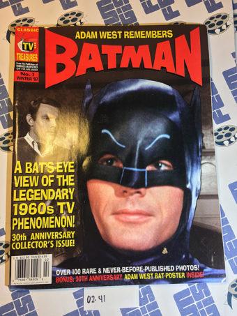 TV Treasures Magazine No. 1: Adam West Remembers Batman 30th Anniversary Collector's Issue (Winter 1997) [0241]