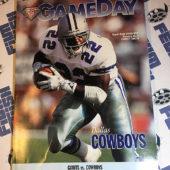 Gameday Magazine (Dec. 24, 1994) New York Giants vs. Dallas Cowboys at Giants Stadium – Emmitt Smith [12173]