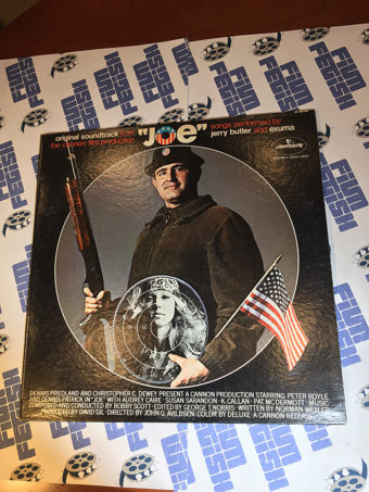 Joe Original Motion Picture Soundtrack Vinyl Edition Songs by Jerry Butler and Exuma (1970)