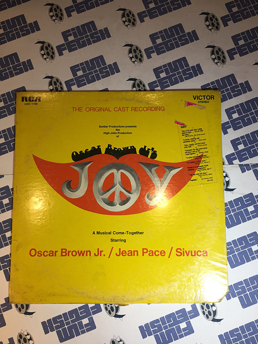 Oscar Brown Jr.'s Joy The Original Cast Soundtrack Recording LSO-1166
