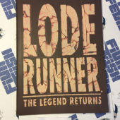 Lode Runner: The Legend Returns Original User Manual (1994) MAC Bundled Version Sierra On-Line