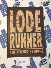 Lode Runner: The Legend Returns Original User Manual (1994) MAC Bundled Version Sierra On-Line
