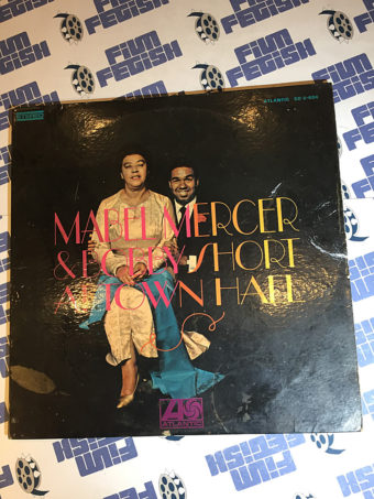 Mabel Mercer and Bobby Short at Town Hall 2LP Vinyl Edition SD-2-604