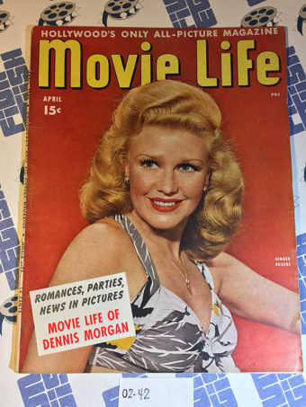 Movie Life Magazine (April 1944) Dennis Morgan, Ginger Rogers [0242]