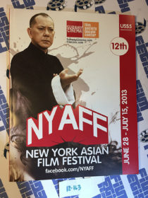 12th Annual New York Asian Film Festival Official Program Guide Anthony Chau-Sang Wong Cover (2013)