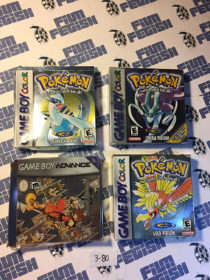 Nintendo Gameboy Cartridge Boxes Set of 4 – Packaging + Manuals Only [380]
