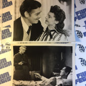 Set of 4 Clark Gable Press Photos from Gone With the Wind and More [PHO53]