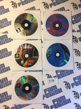 Lot of 5 Game Discs for Playstation [379]