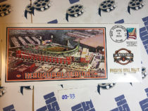San Francisco Giants Inaugural Season Pacific Bell Park First Day Postal Cover (April 11, 2000) [0233]