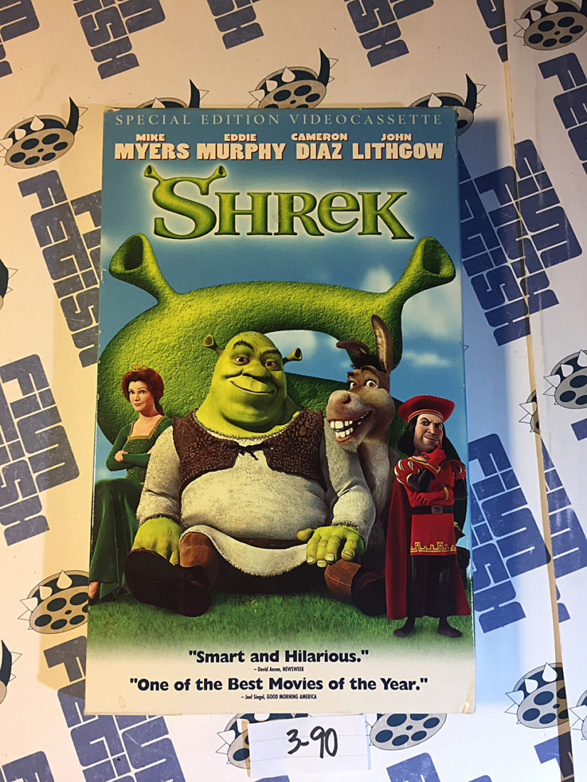 Shrek Special Edition (VHS, 2001) Mike Myers, Eddie Murphy [390]