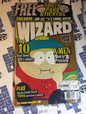 Wizard Magazine No. 80 (April 1998) Cover 3 of 3 [243] Kevin Smith, South Park, Thor, X-Men