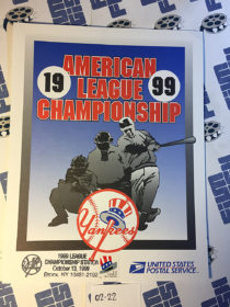 New York Yankees American League Championship 1999 USPS First Day Cover Bronx [222]