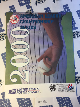 New York Yankees American League Championship Series October 17, 2000 USPS First Day Cover Bronx [226]