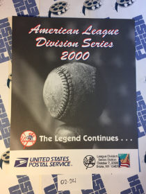New York Yankees American League Division Series October 7, 2000 USPS First Day Cover Bronx [224]