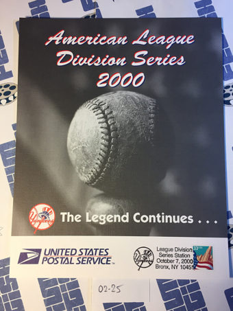 New York Yankees American League Division Series October 7, 2000 USPS First Day Cover Bronx [225]