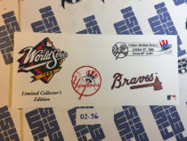 New York Yankees vs. Atlanta Braves World Series October 27, 1999 USPS Limited Collector's Edition First Day Cover Bronx [236]