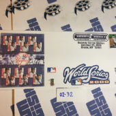 New York Yankees Subway World Series October 21, 2000 USPS First Day Cover Bronx [232]