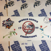 New York Yankees World Series Champions October 29, 1999 USPS First Day Cover Bronx [234]