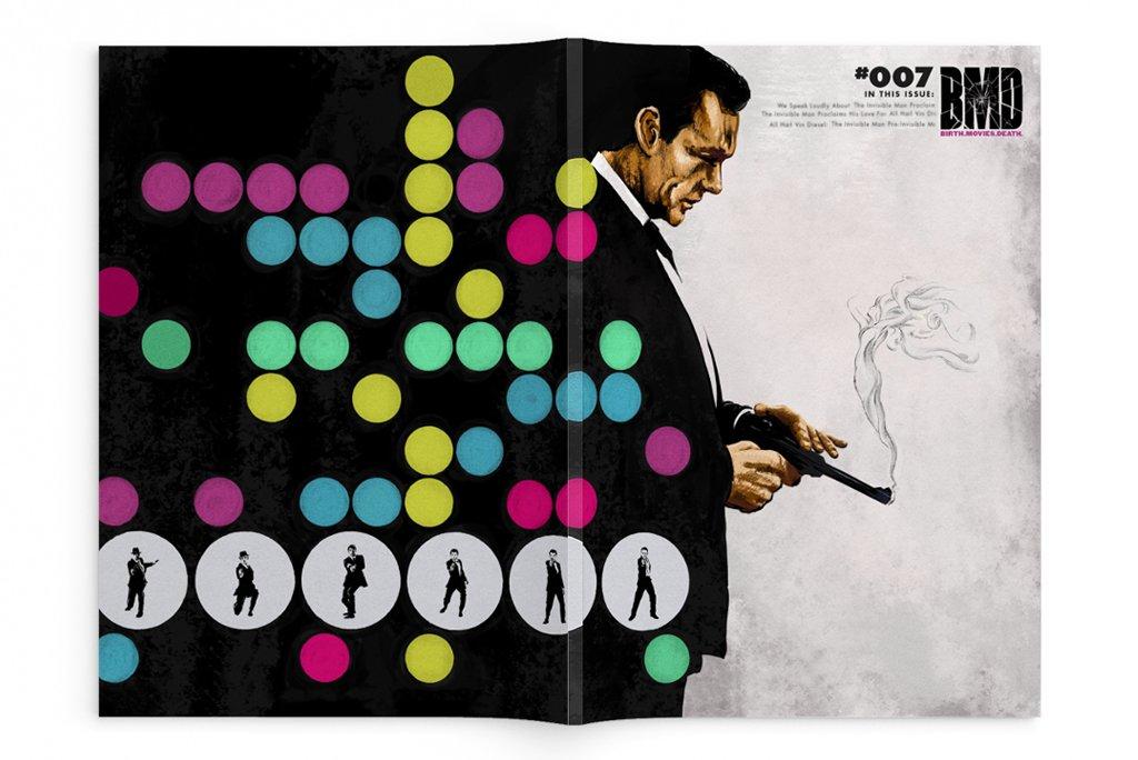 Birth Movies Death: James Bond 007 Commemorative Issue Mondo OOP (2020)