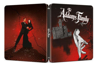 The Addams Family Exclusive Limited Edition Steelbook Blu-ray [D49]