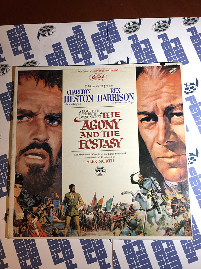 The Agony and the Ecstasy Music from the Film Soundtrack Vinyl Edition (1965)