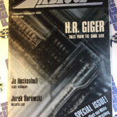 Airbrush Action Magazine (January/February 1987) H.R. Giger, Black and White Airbrushing [672]