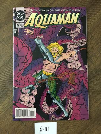 Aquaman No. 5 (January 1995) Octopus Cover Peter David, Jim Calafiore, Howard M. Shum [6111]