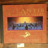 Atlantis: The Lost Empire – Illustrated Script Hardcover Edition [A74]