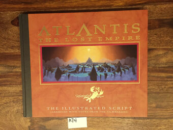 Atlantis: The Lost Empire – Illustrated Script Hardcover Edition [A74]