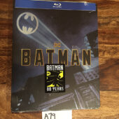 Batman (1989) 80th Anniversary Exclusive Blu-ray Steelbook (2019) [A79]