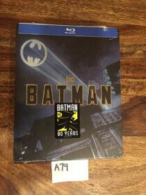 Batman (1989) 80th Anniversary Exclusive Blu-ray Steelbook (2019) [A79]