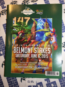 Belmont Stakes 147th Running Official Program Guide (June 6, 2015) American Pharoah Wins Triple Crown [12106]