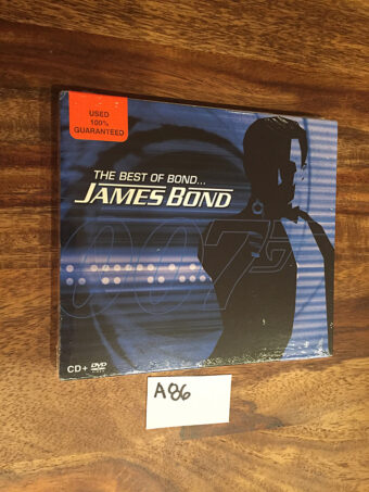 The Best of Bond. . . . James Bond – Music from the Films CD + DVD