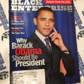 Black Enterprise Magazine Barack Obama Cover Photo (January 2008) [D76]