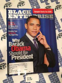 Black Enterprise Magazine Barack Obama Cover Photo (January 2008) [D76]