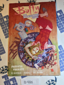 Buffy: The High School Years – Parental Parasite Comic + 11×17 inch Poster Signed by Creator Kel McDonald (2017) [12485]