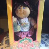 Hasbro Cabbage Patch Kids Preschool Kids Doll + Box + Adoption Papers [0296]