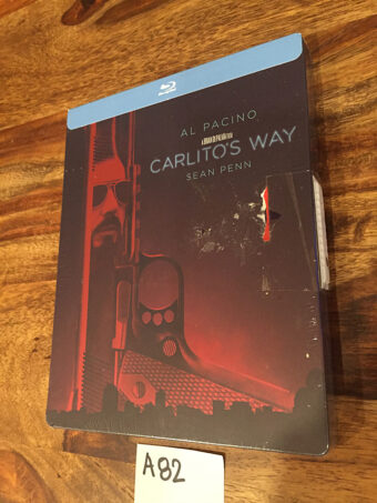 Carlito's Way Limited Edition Blu-ray Steelbook (2018) [A82] Al Pacino