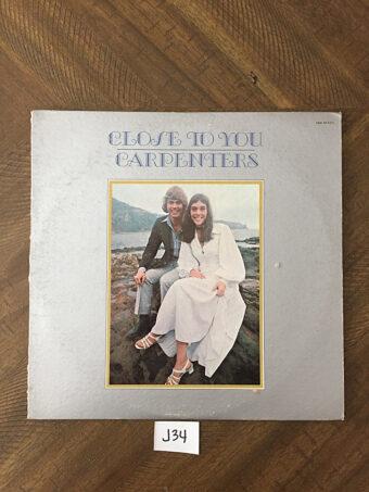 Carpenters Close to You Vinyl Edition SP4271 (1970) [J34]