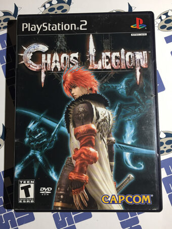 Capcom Chaos Legion PlayStation 2 Video Game with Manual