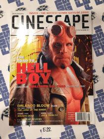 Cinescape Magazine (January 2003, No. 74) Ron Perlman as Hellboy Cover [E22]