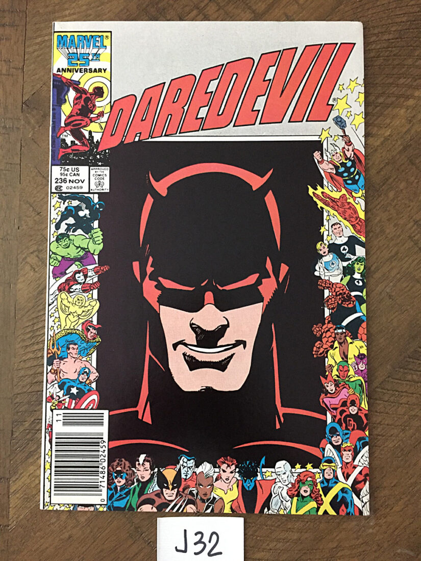 Daredevil No. 236 (November 1986) Bill Sienkiewicz and Walter Simonson Cover [J32]