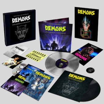 Claudio Simonetti Demons Soundtrack – Limited Edition Deluxe Collector's Box Set