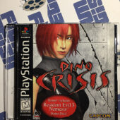 Capcom Dino Crisis PlayStation PS1 with Manual (1999)