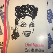 Ethel Merman in Call Me Madam Theater Souvenir Program Guide