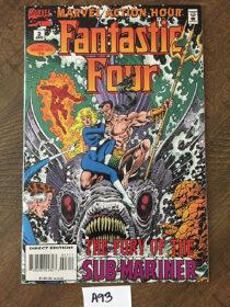 Fantastic Four No. 3 Marvel Comics Action Hour (January 1995) [A93]