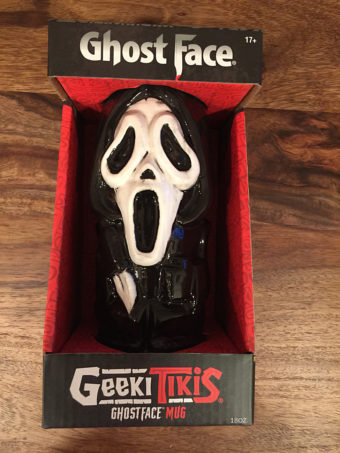 Scary Movie Series Ghost Face 18 oz Geeki Tikis Ceramic Horror Mug