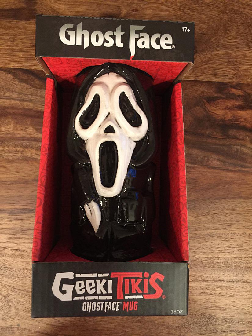 Scary Movie Series Ghost Face 18 oz Geeki Tikis Ceramic Horror Mug