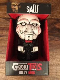 Saw Film Series Tobin Bell as Jigsaw 18 oz Geeki Tikis Ceramic Horror Mug